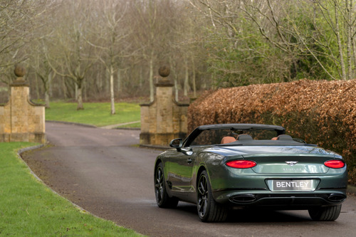 BENTLEY MULLINER PRESENTS THE CONTINENTAL GT CONVERTIBLE EQUESTRIAN EDITION