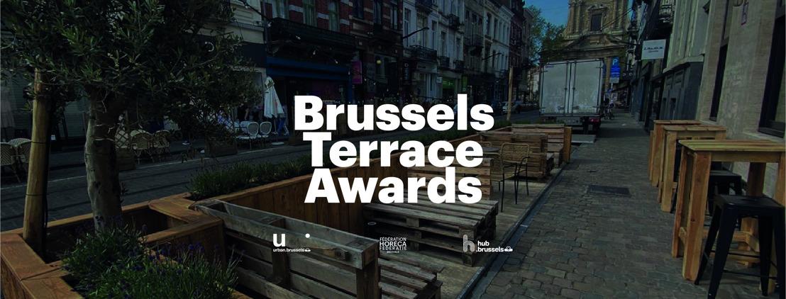 """De """"Brussels Terrace Awards"""" belonen de mooiste terrasjes op parkeerplaatsen"""
