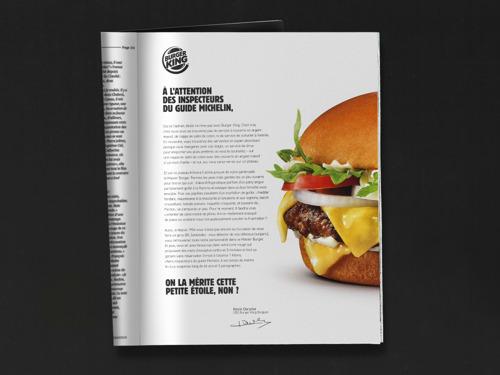Le Master Burger de BURGER KING® Belgique, bientôt étoilé ?