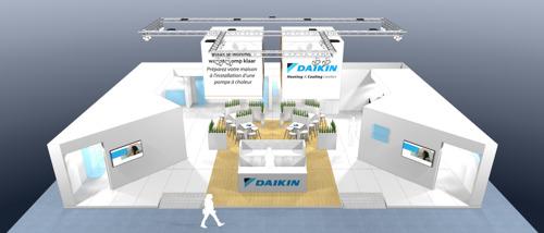 Daikin stelt innovaties voor op Batibouw