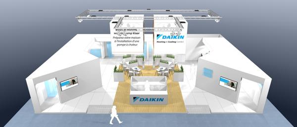 Preview: Daikin stelt innovaties voor op Batibouw