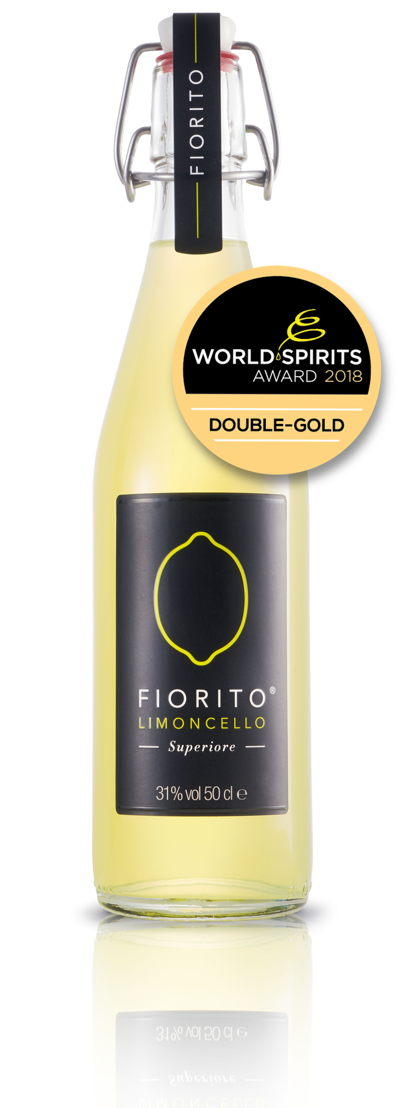 Fiorito Limoncello - World Spirits Awards 2018 Double Gold