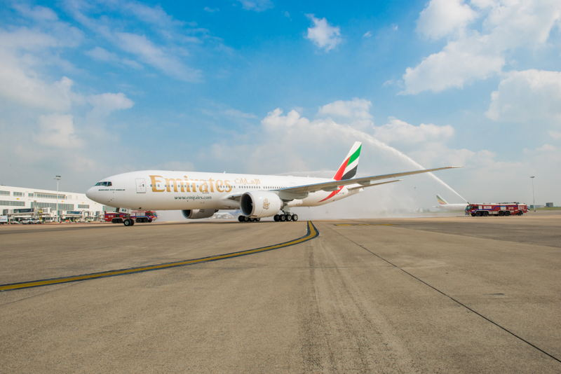 Emirates launched 5 new routes and added services and capacity on 34 others in 2014