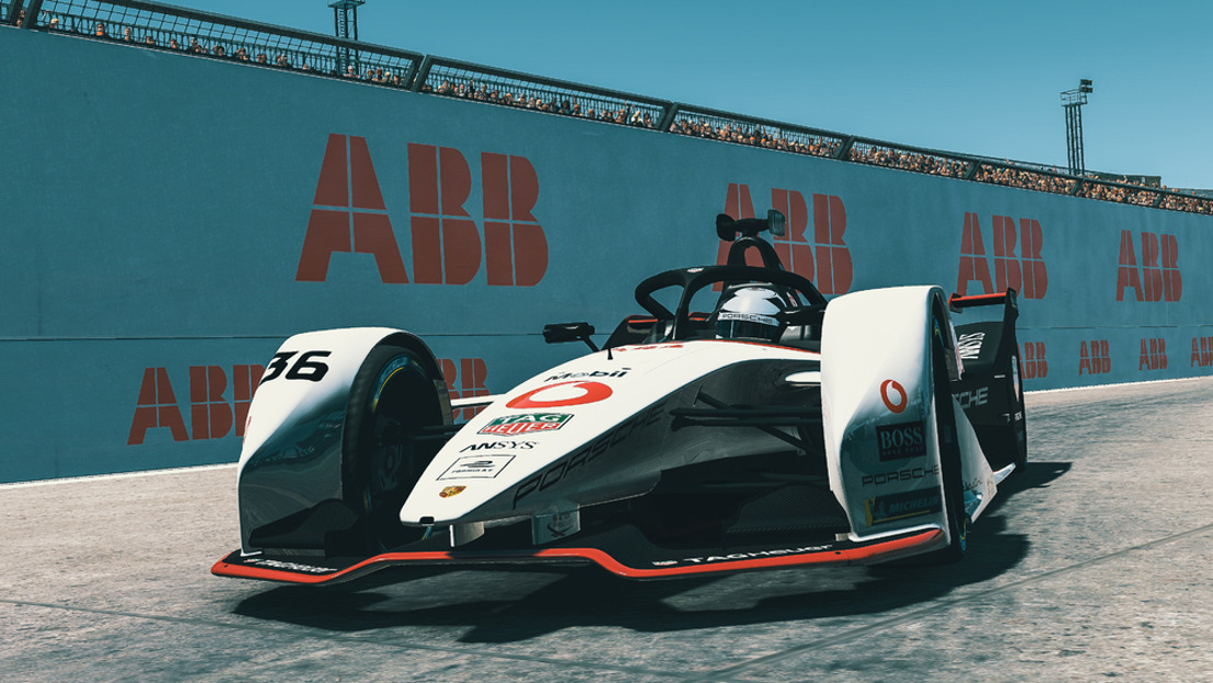 """ABB FIA Formula E Championship 2019/2020, round eight of the """"Race at Home Challenge"""""""