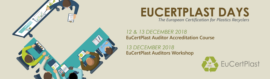 EuCertPlast Days - Become an accredited auditor