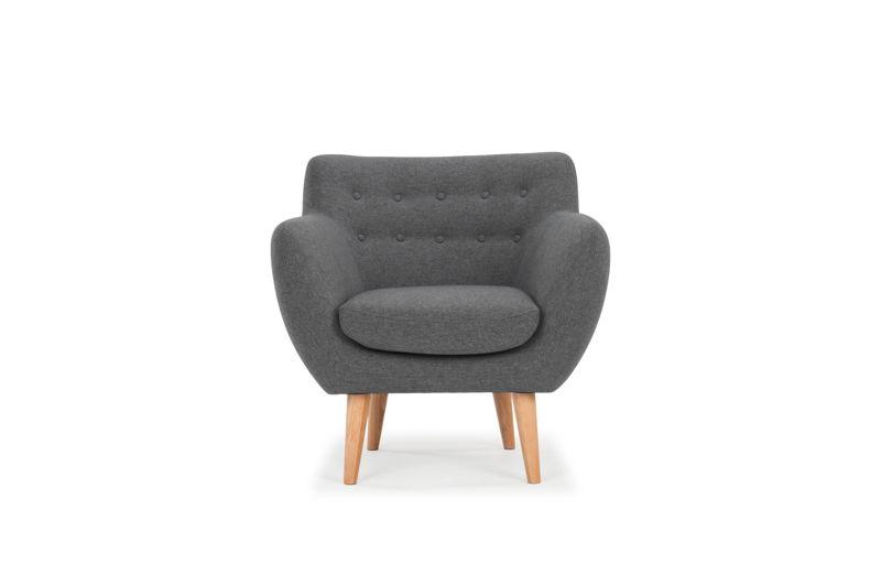 Anne chair - Sunday Dark Grey