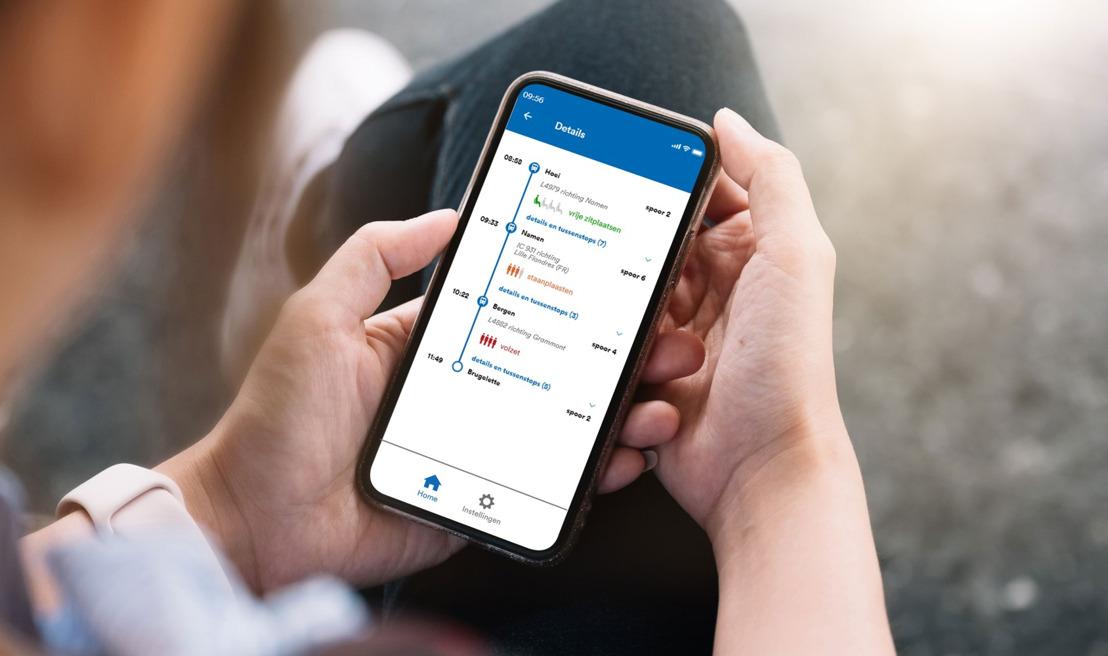 MoveSafe-app helpt te drukke treinen te vermijden