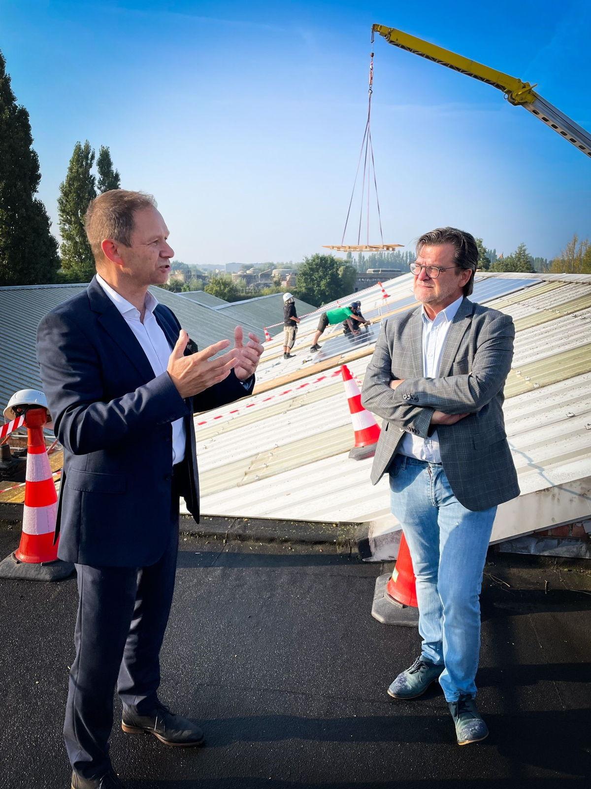 Jean-Jacques Delmeé (links) en Eddy Bevers