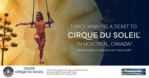 ARK Communication et Panasonic Energy Europe sous les feux de la rampe avec le Cirque du Soleil®