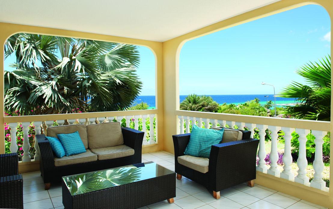 Balkon zeezicht Lagun