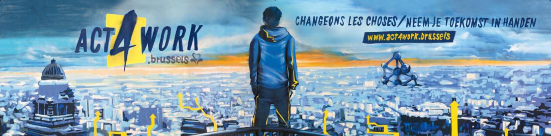 Act4Work : le street art et le hip hop à la rescousse des jeunes Bruxellois sans-emploi