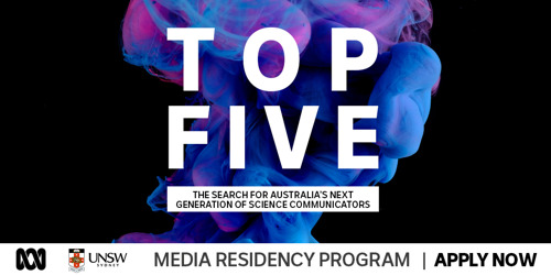 Australia's Top 5 Young Science Communicators Announced