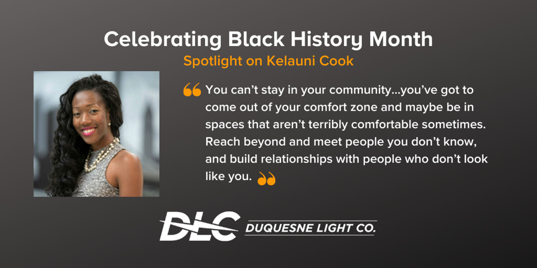 Black History Month: Spotlight on Kelauni Cook