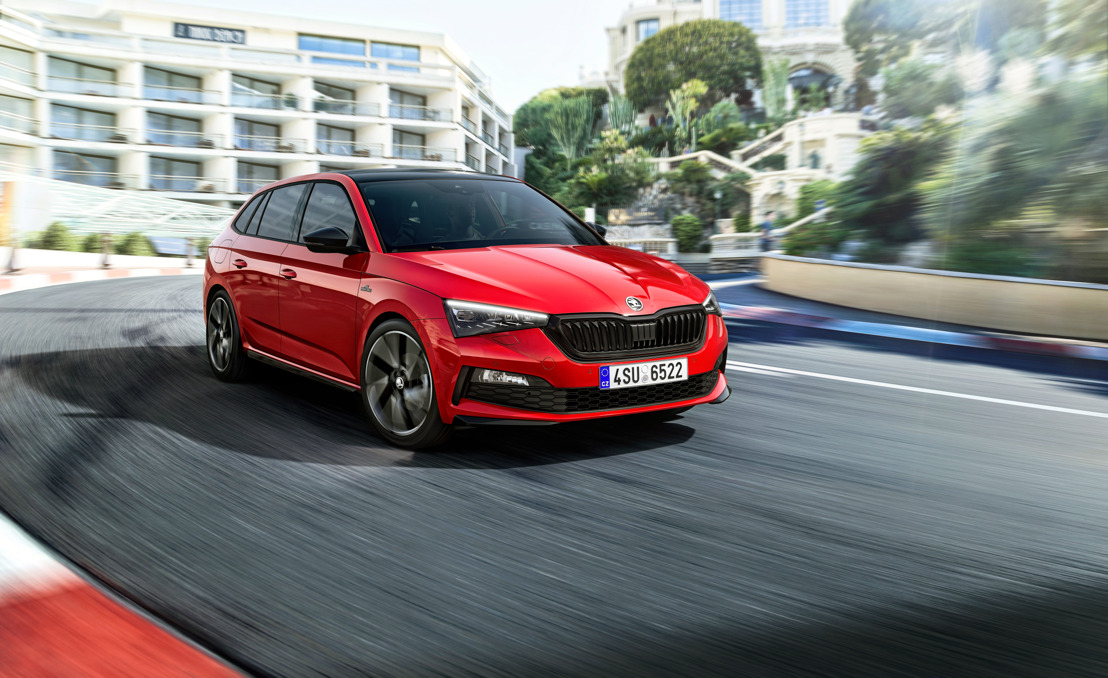 ŠKODA SCALA MONTE CARLO: New trim level for even more dynamic and lifestyle appeal