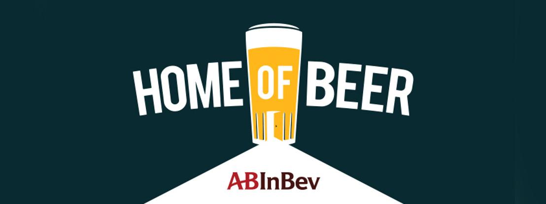 """AB InBev viert biererfgoed met nieuwe identiteit """"Home of Beer"""""""