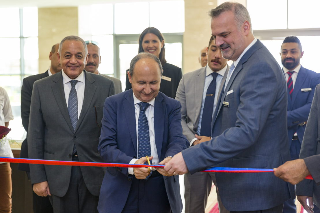 H.E. Eng. Amr Nassar, Minister of Trade and Industry inaugurating The Big 5 Construct Egypt
