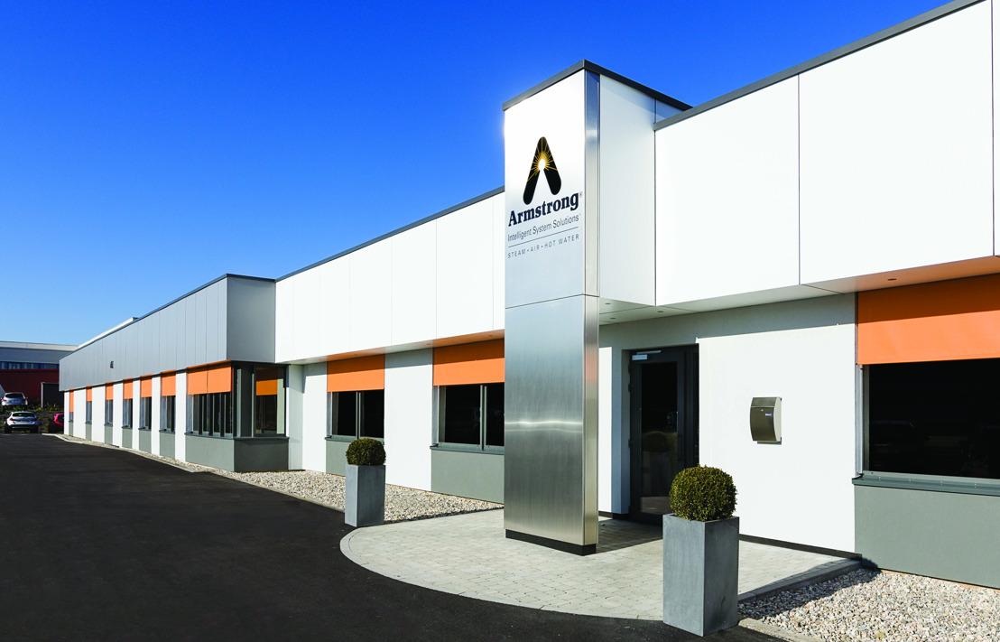 Armstrong International à Herstal mise sur l'énergie solaire avec Luminus