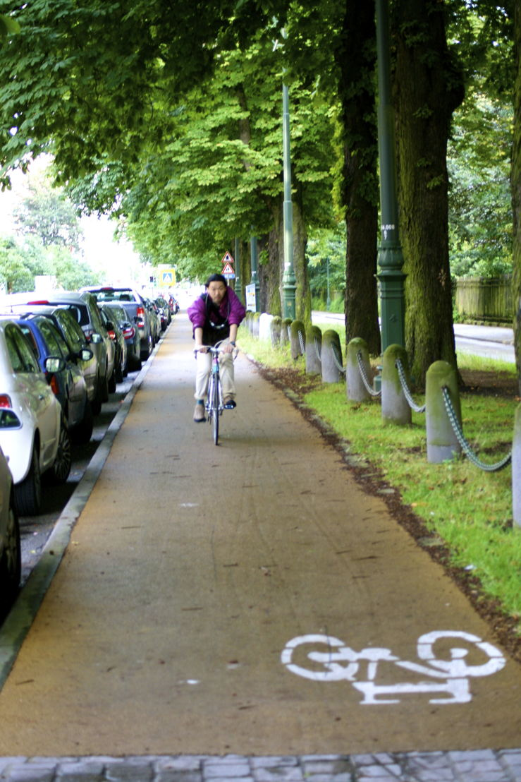 Piste cyclable Avenue de l'Yser