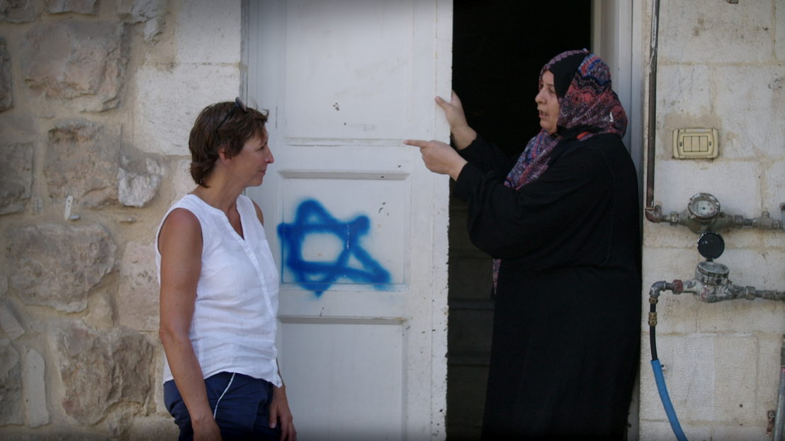 Amazones: aflevering 1 - Phara in Hebron - (c) VRT