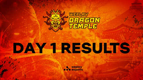 WePlay Dragon Temple Day 1 Results and Photo Tour