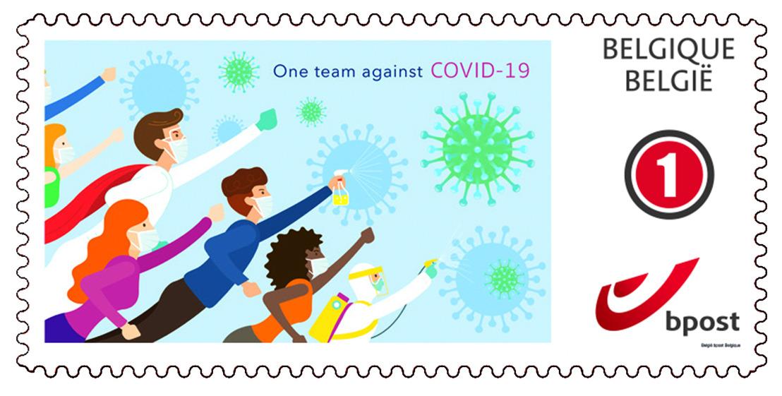 bpost lance un timbre-poste à tirage limité consacré au thème «Ensemble, plus forts»
