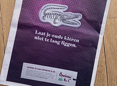 DDB vide les placards de Opnieuw & Co