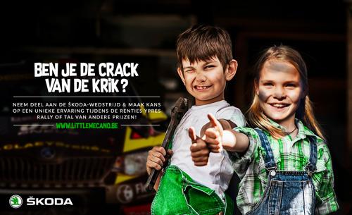 ŠKODA België nodigt jonge mecaniciens uit voor de Renties Ypres Rally