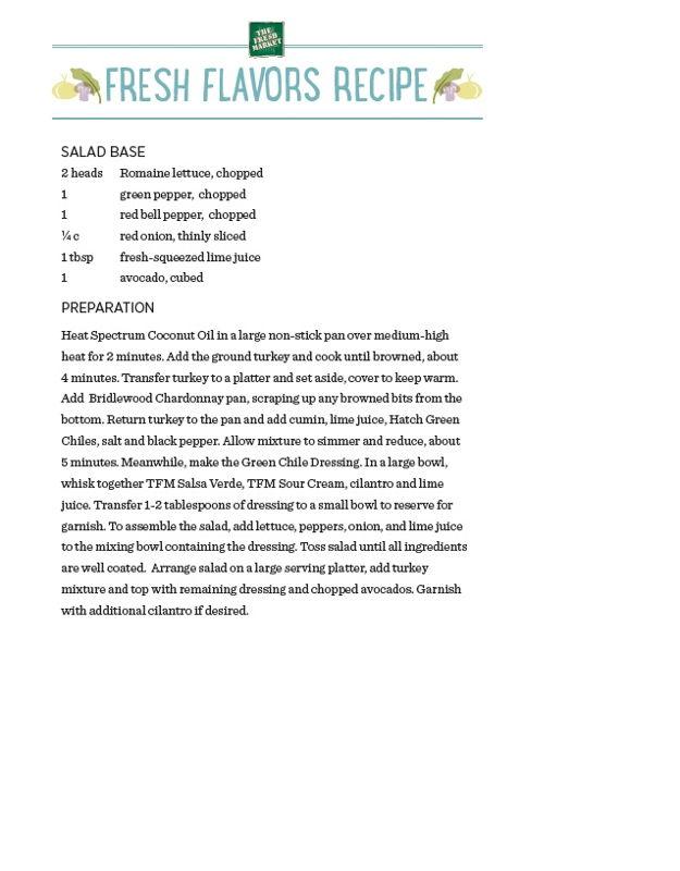 Recipe: Turkey Green Chili Taco Salad (2)