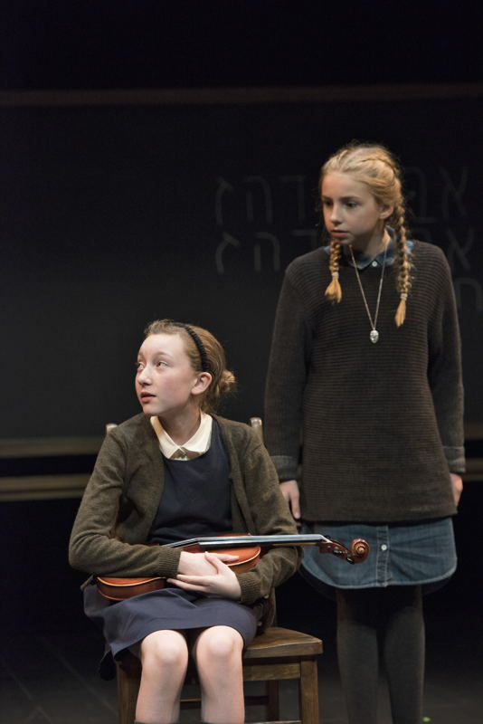 Sophia Irene Coopman and Lily Cave in The Children's Republic by Hannah Moscovitch / Photos by David Cooper