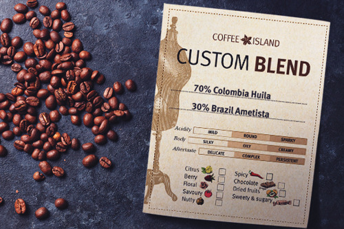 Create Your Own Custom Blend With Coffee Island - 25th April, 11am
