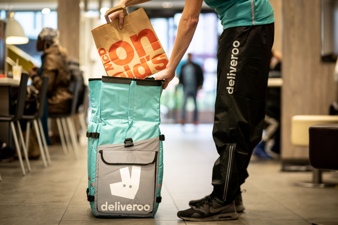 Deliveroo & McDonald's annoncent une nouvelle collaboration