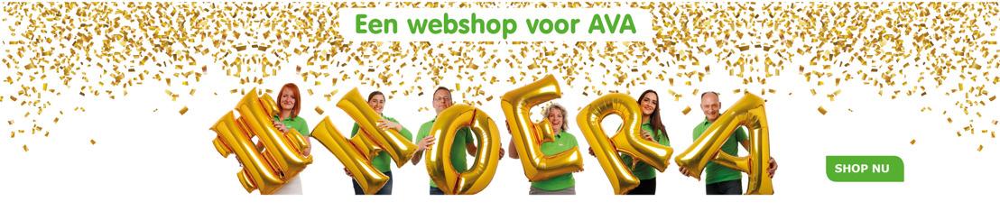 AVA lanceert niet één, maar meteen drie webshops