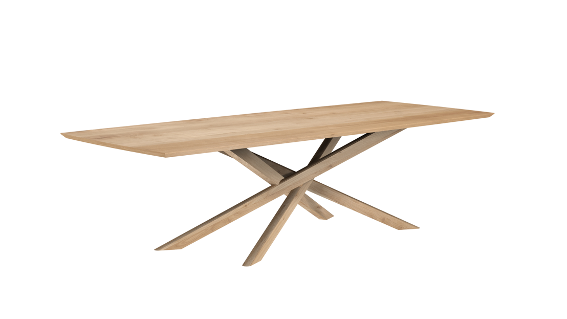 Oak Mikado Dining Table -280cm