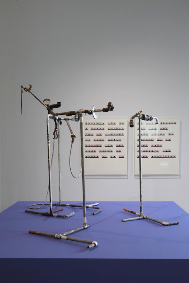 Yto Barrada. Plumber Assemblage, 2015 © Yto Barrada. Courtesy Sfeir-Semler Gallery, Hamburg/Beirut; Pace Gallery, Londen; Galerie Polaris, Parijs