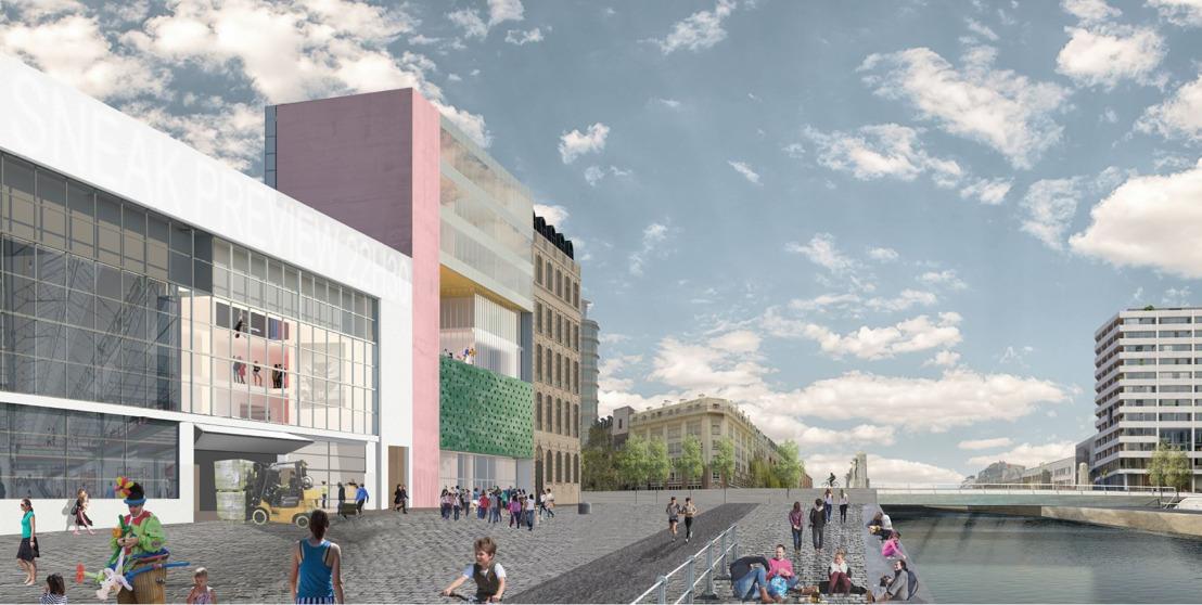 Winnaar architectuurwedstrijd bekend: Brussels bureau architectuuratelier ambiorix gaat Kaaitheater verbouwen