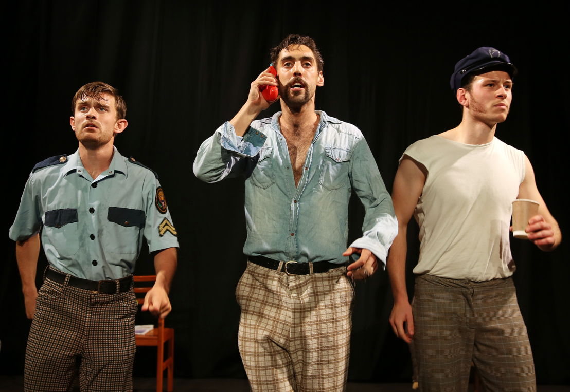 Police Cops at the Cape Town Fringe 2016 - pic Nardus Engelbrecht