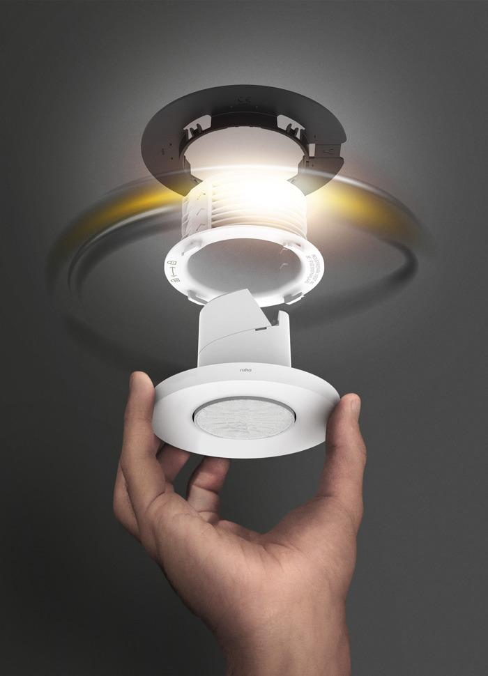 Niko lanceert plafonddetectoren met baanbrekend montagesysteem