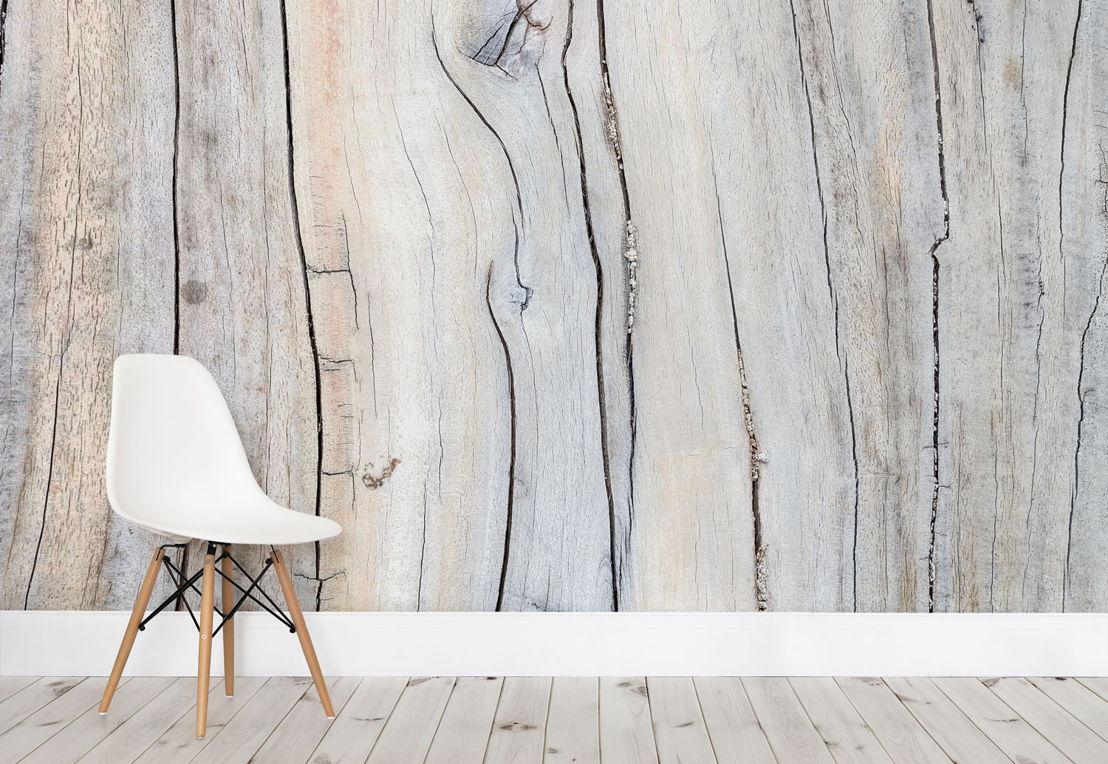 Driftwood Detail Wall Mural