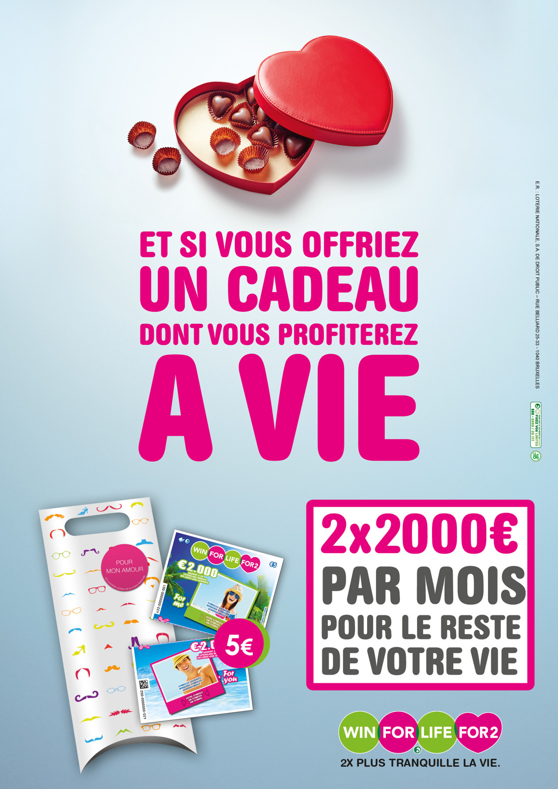 Campagne Win for Life for Two