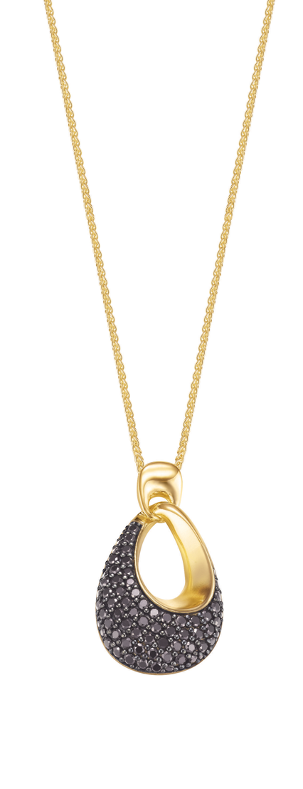 Collier ESPRIT Medea Black Gold : 199 €.