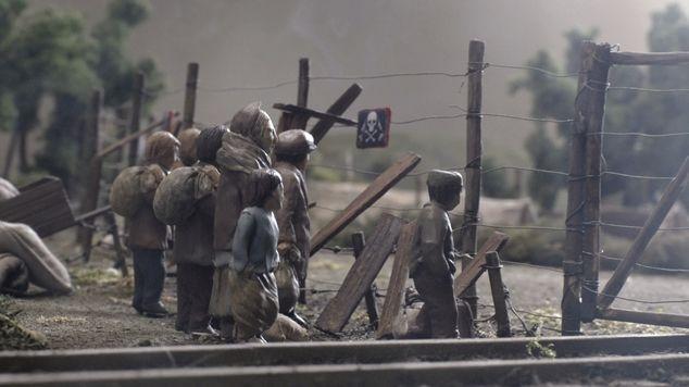 Kleine handen in een grote oorlog - Aflevering 2 - De vlucht (Belgische aflevering) - animatie - (c) VRT - Looks