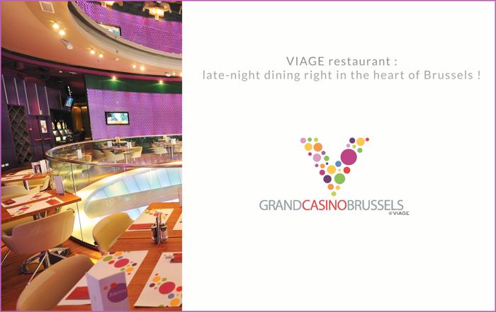 Restaurant VIAGE: uitgebreid dineren tot na middernacht in hartje Brussel.