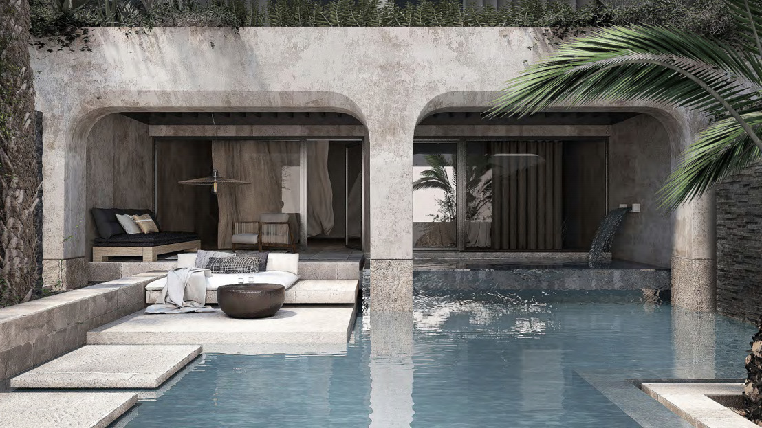 bluegr Hotels & Resorts Get Classy New Look: Waterfall Suites