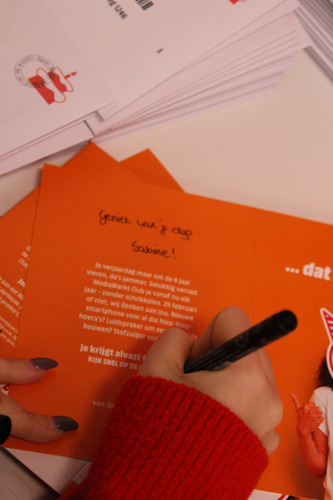 MediaMarkt schrijft verjaardagsbrieven voor 'schrikkelkinderen'