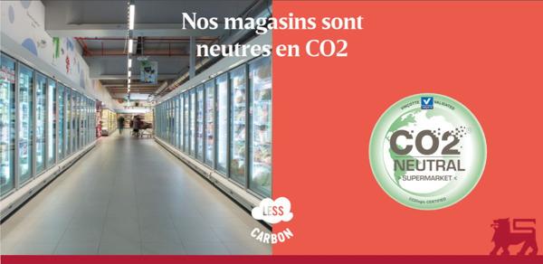 Preview: Une première : les 763 magasins Delhaize sont neutres en CO₂