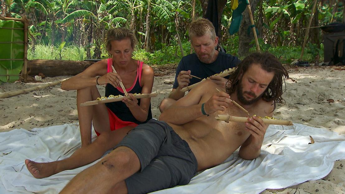Het vriendschapspact onder druk: moeten Luc, Anton en Nele in eigen vlees snijden?