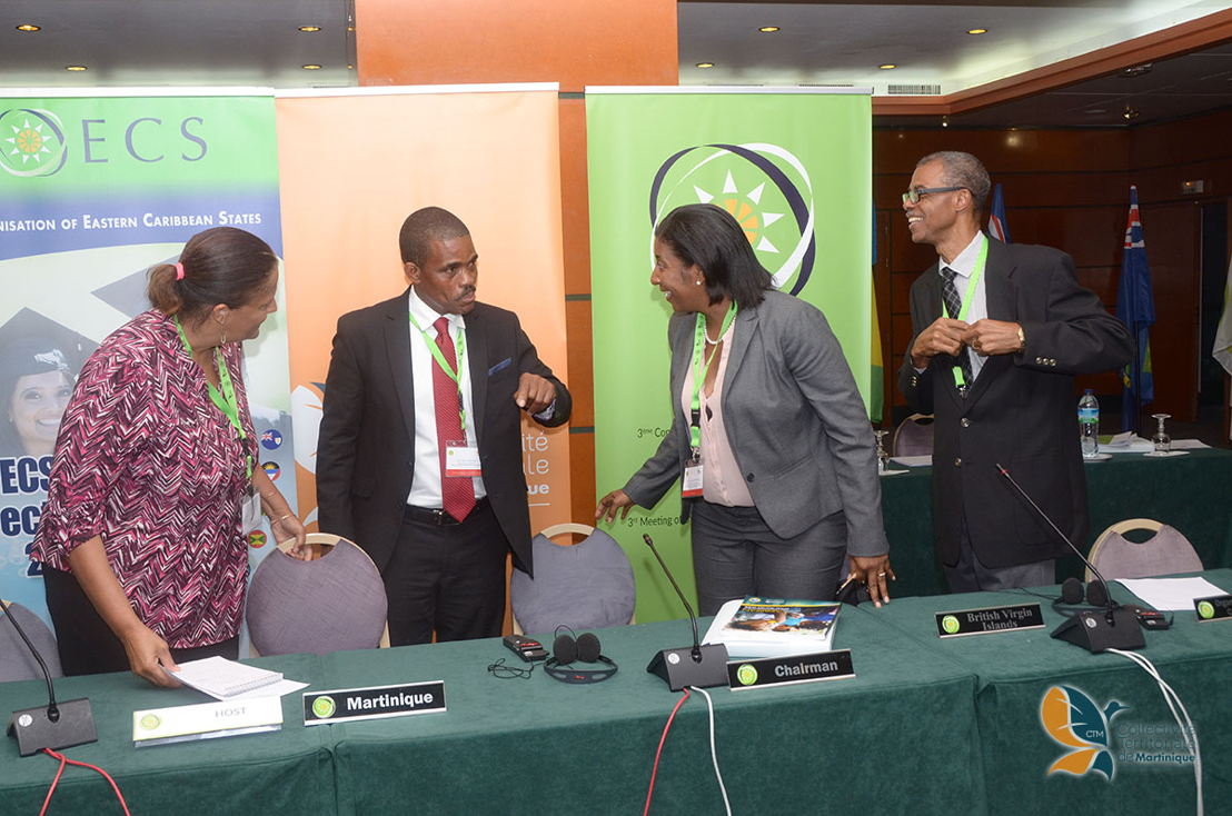 3ème Conseil des Ministres de l'Organisation des Etats de la Caraïbe Orientale.