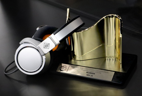 TEC Award for Neumann's Headphone Debut!