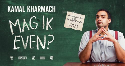Extra voorstelling 'Mag ik even?' van Kamal Kharmach in Antwerpen