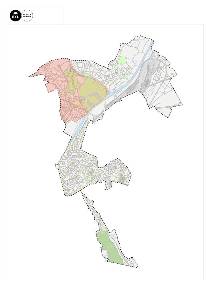 La Ville de Bruxelles développe une vision pour l'avenir des intérieurs d'îlots de Laeken